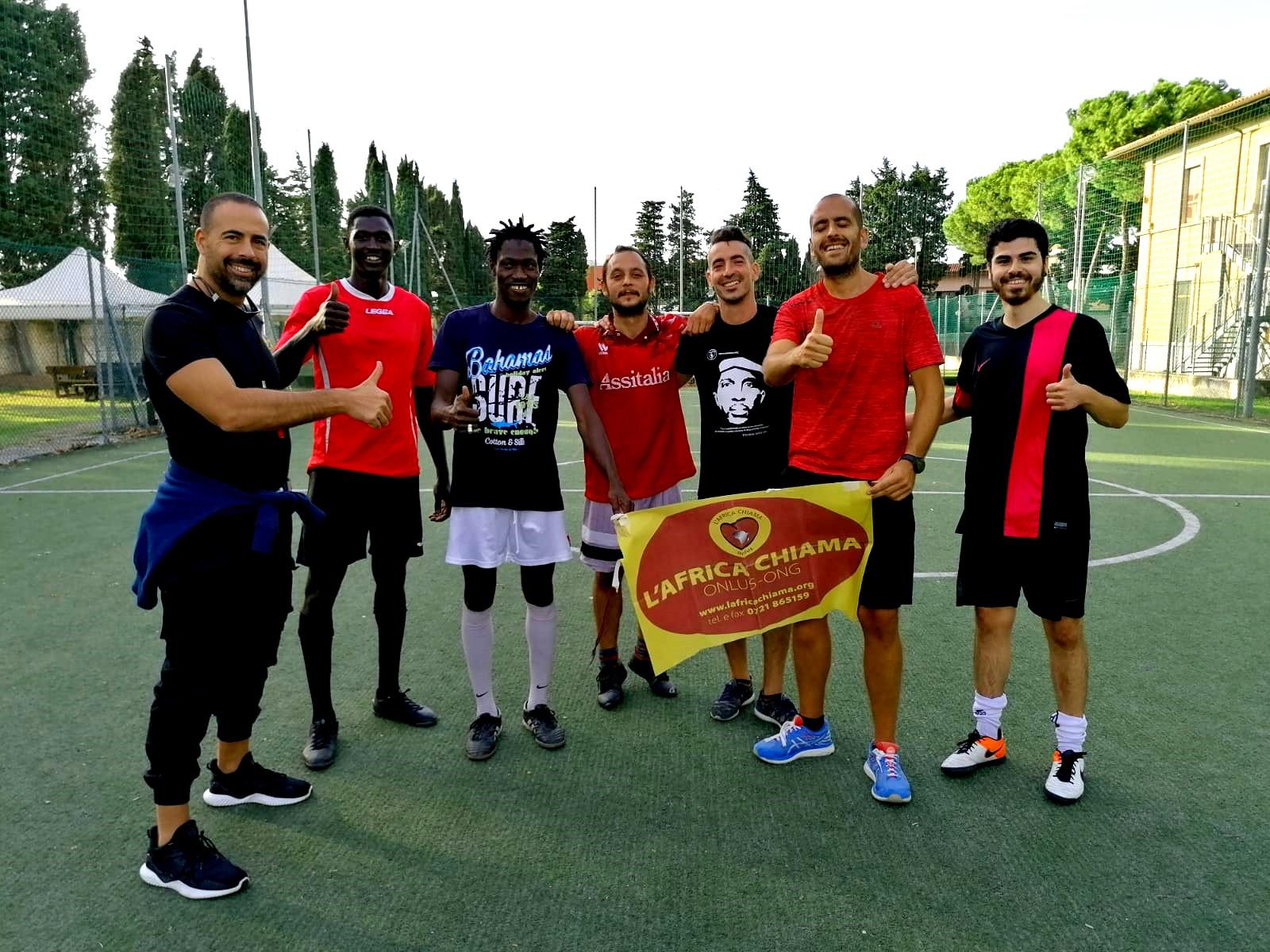 """La squadra de L'Africa Chiama Torneo di calcio Fratelli di Sport – Memorial """"Italo Nannini"""""""