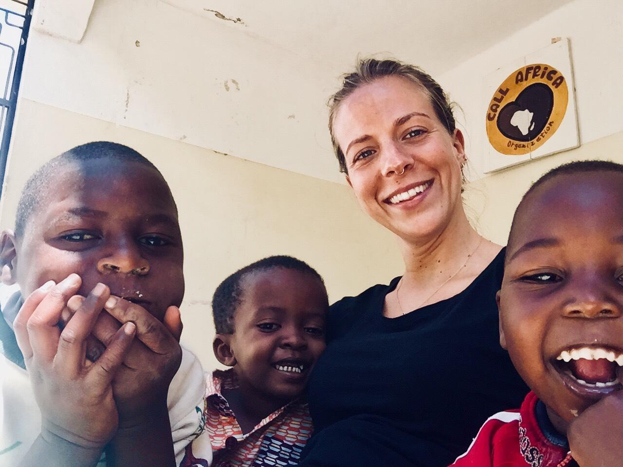 foto di Martina Furlan volontaria in servizio civile Africa