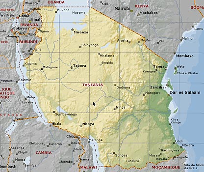 Malindi Cartina Geografica.Paese
