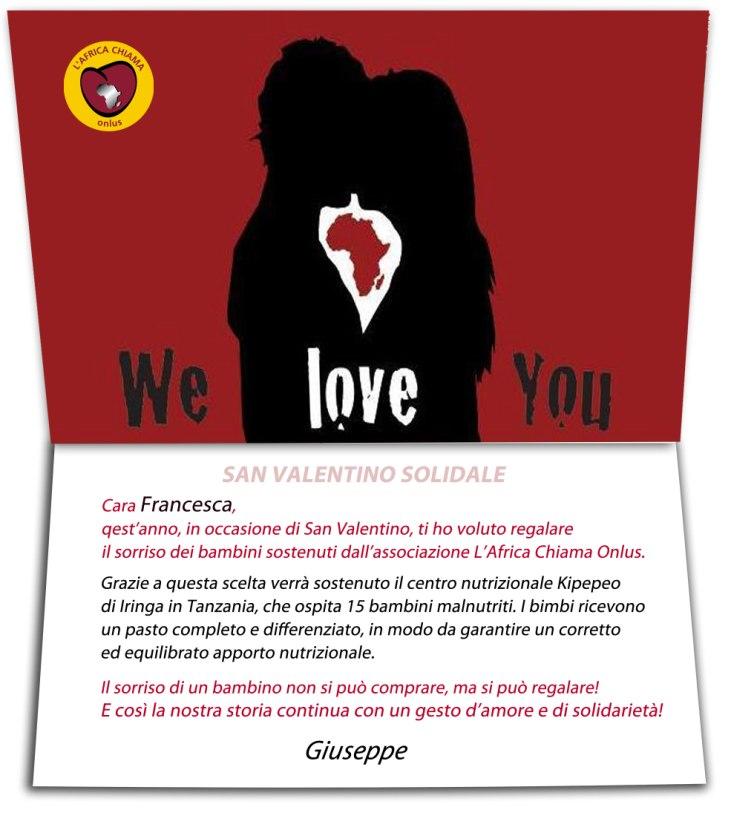 san valentino solidale