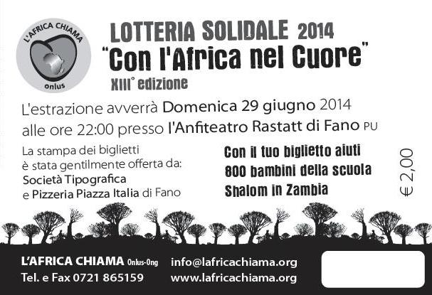 lotteria solidale 2014