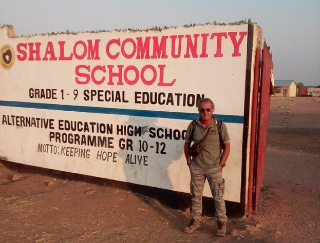 massimiliano volontario zambia de l'africa chiama