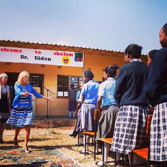 Mr. Biden Shalom community school