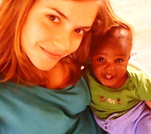 Sarah Bastianello volontaria a Kanyama in Zambia con l'Africa Chiama